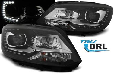 FARI ANTERIORI VW TOURAN GP2 2010-14 LED DIURNI Copia ORIGINALE