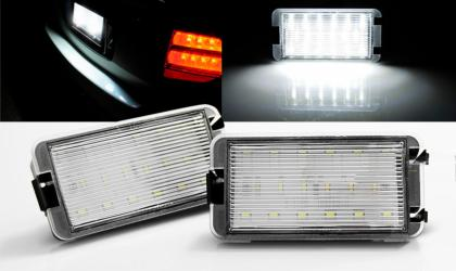 Basette LUCI TARGA LED SMD CANBUS SPECIFICHE SEAT