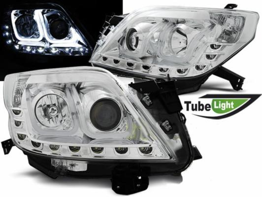 FARI ANTERIORI TUBE LED TOYOTA LAND CRUISER (150) CROMATI