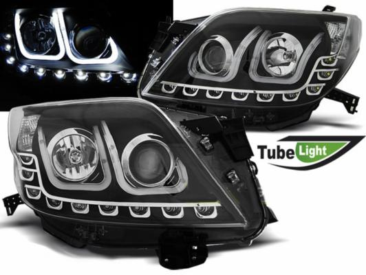 FARI ANTERIORI TUBE LED TOYOTA LAND CRUISER (150) NERI