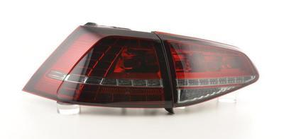 FARI POSTERIORI LED VOLKSWAGEN GOLF 7 GTI Look Rossi Smoke