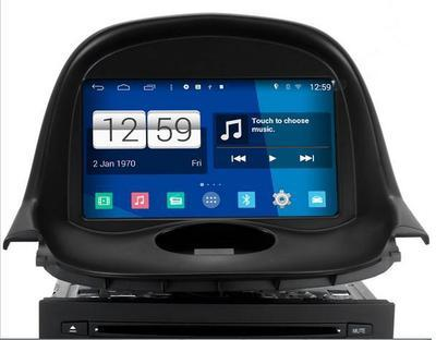 Radio Monitor ANDROID 4.4.4 GPS PEUGEOT 206