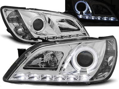 FARI ANTERIORI DAYLINE LED LEXUS IS 01-05 CROMATI