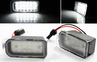 Basette LUCI TARGA LED 18SMD CANBUS Specifiche FORD