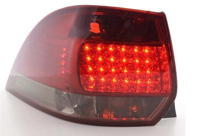 FARI POSTERIORI LED VW GOLF 5 VARIANT SW ROSSO SMOKE