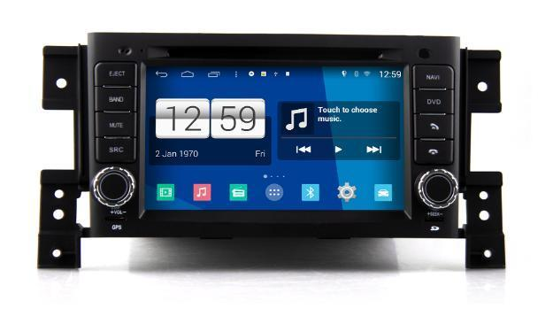 AUTORADIO MONITOR DVD GPS SUZUKI Grand Vitara ANDROID 4.4.4