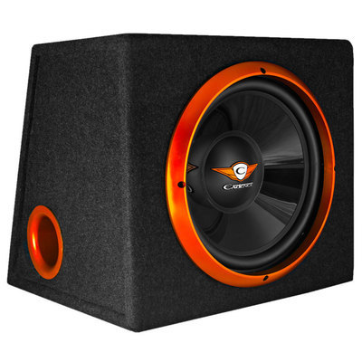 Subwoofer ATTIVO in cassa amplificato Cadence Flash