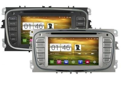 RADIO MONITOR ANDROID 4.4.4. S160 FORD NERO