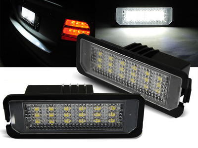 Basette LUCI TARGA LED SMD CANBUS SPECIFICHE VW