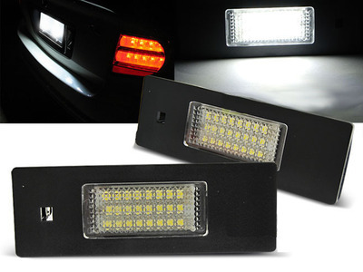 Basette LUCI TARGA LED SMD CANBUS SPECIFICHE BMW e MINI