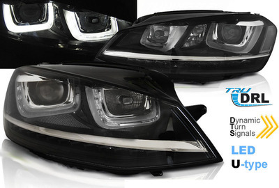 FARI ANTERIORI VW GOLF 7 LED BI-Luce FRECCIA LED DINAMICA ORIGINAL LOOK (RICHIEDE CODIFICA VAG)