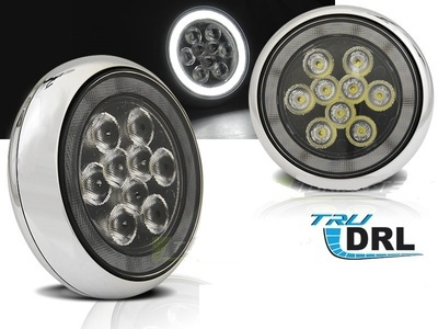 FARETTI STILE RALLY LED DIURNI ANGEL MINI R50 01-06