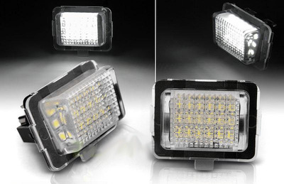 Basette LUCI TARGA LED SMD CANBUS SPECIFICHE MERCEDES