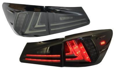 FARI POSTERIORI TUBE FULL LED LEXUS IS XE20 06-12 NERI SMOKE
