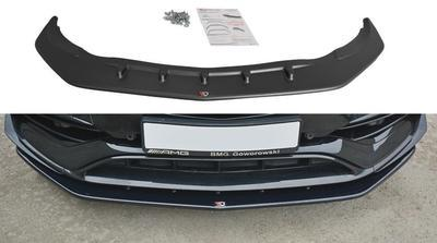 LAMA SPOILER PARAURTI ANTERIORE MERCEDES CLA AMG 45 W117 Restyling ABS
