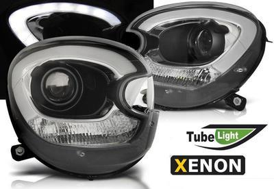 FARI ANTERIORI per XENON TUBE LED MINI R60 COUNTRYMAN NERI
