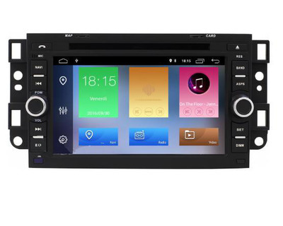 Radio Monitor ANDROID 6 GPS Chevrolet CAPTIVA