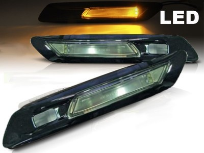 FRECCE LATERALI LED BMW serie 5 F10 F11 NERE per PARK ASSIST